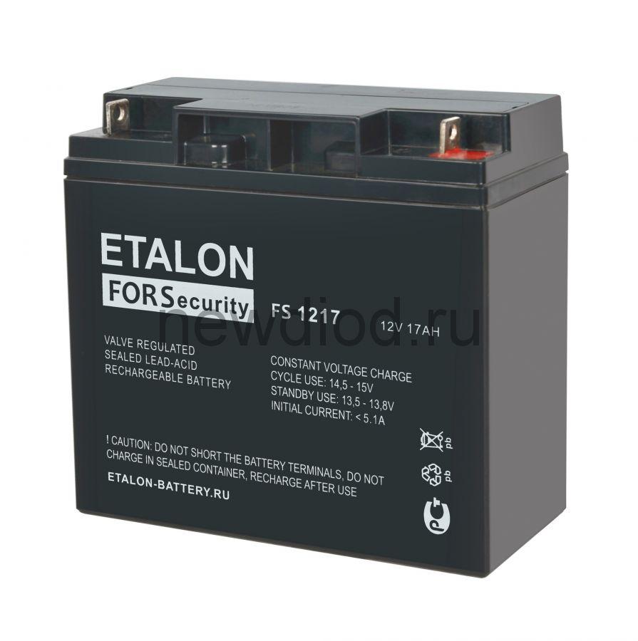 Аккумулятор ETALON FS 1217 (12В/17Ач)