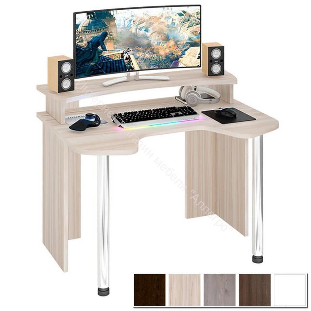 Компьютерный стол Домино lite СКЛ-Игр120 + НКИЛ120