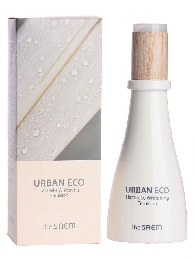 Эмульсия для лица осветляющая с экстрактом новозеландского льна Urban Eco Harakeke Whitening Emulsion 140мл