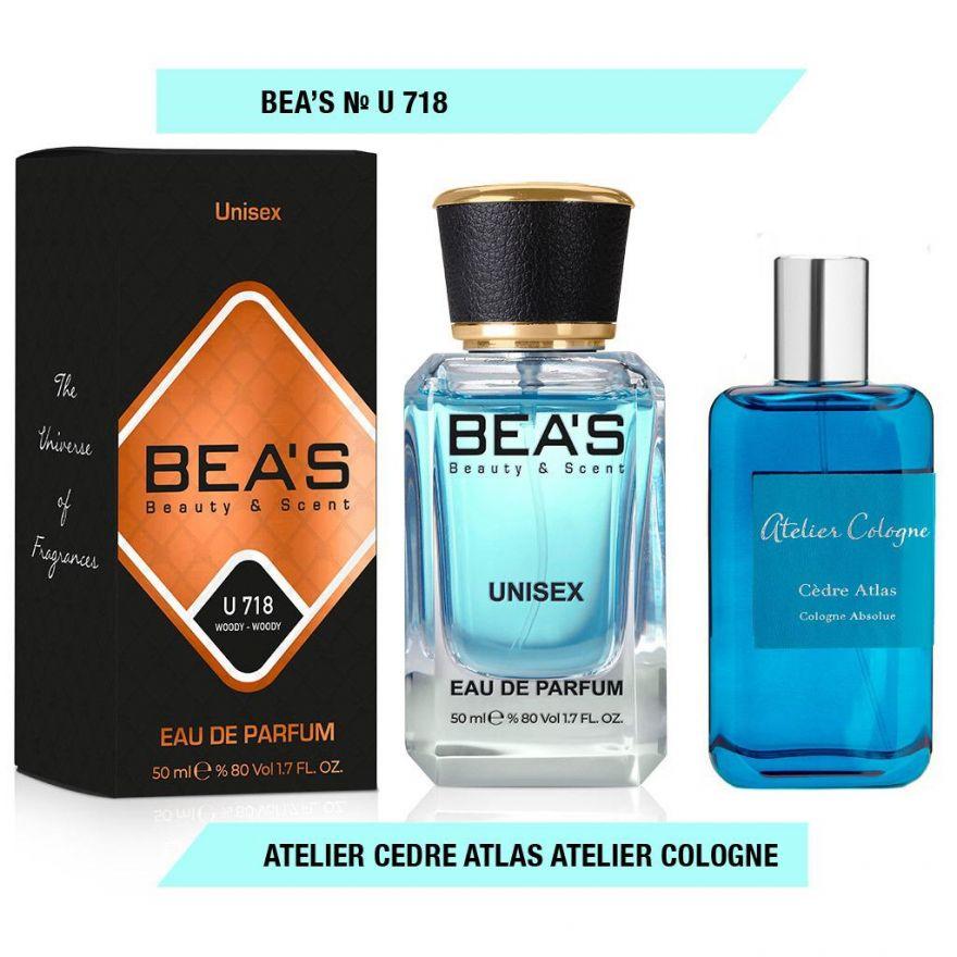 BEA'S (Beauty & Scent) U 718 - Atelier Cologne Cedre Atlas Unisex 50 мл