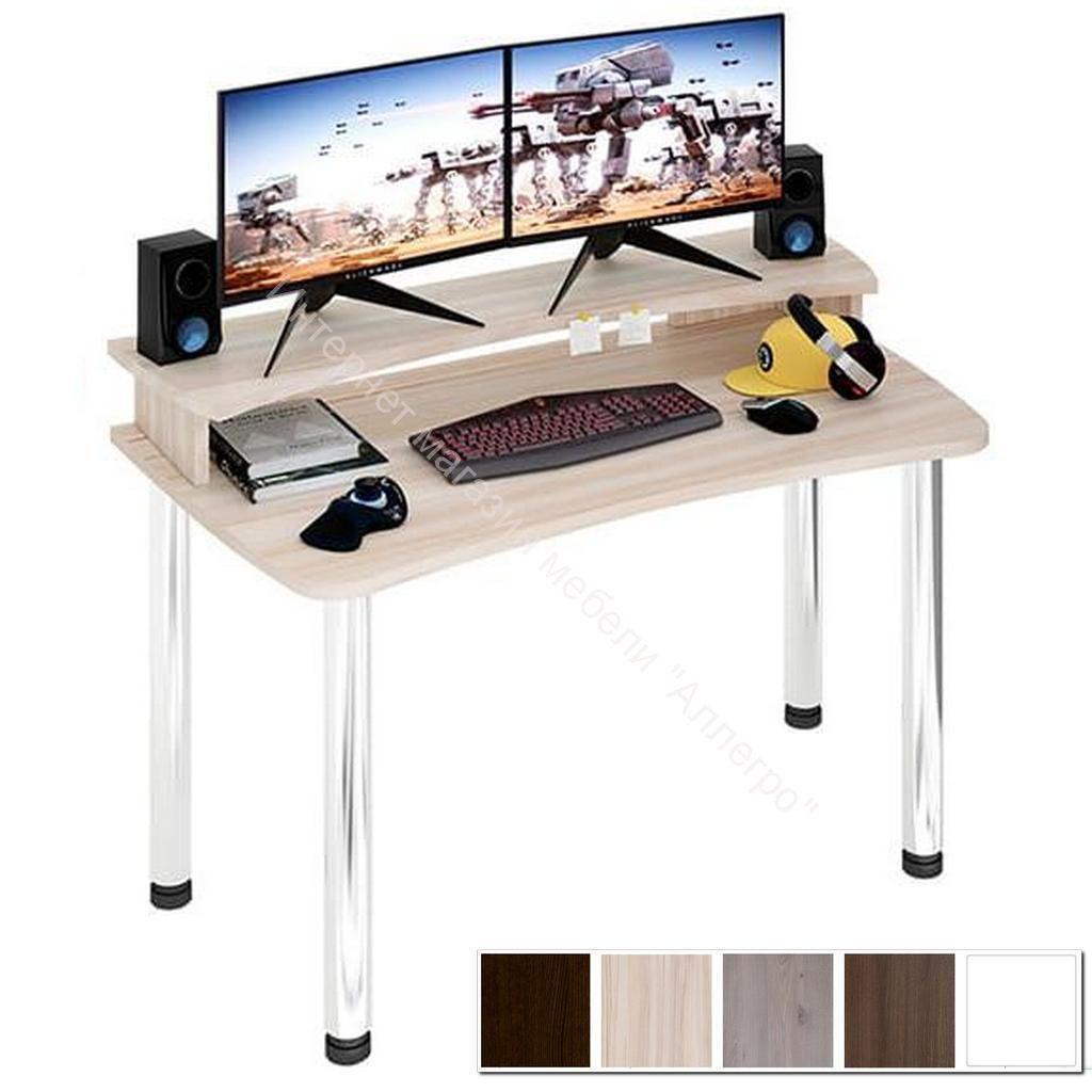 Компьютерный стол Домино lite СКЛ-Софт140МО+НКИЛ140