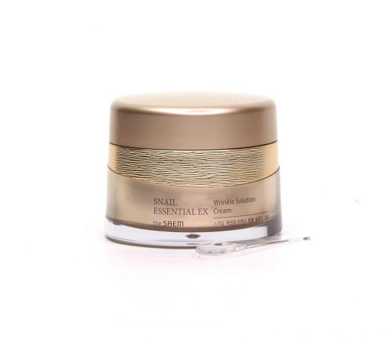 Snail Essential Крем для лица антивозрастной Snail Essential EX Wrinkle Solution Cream 60мл