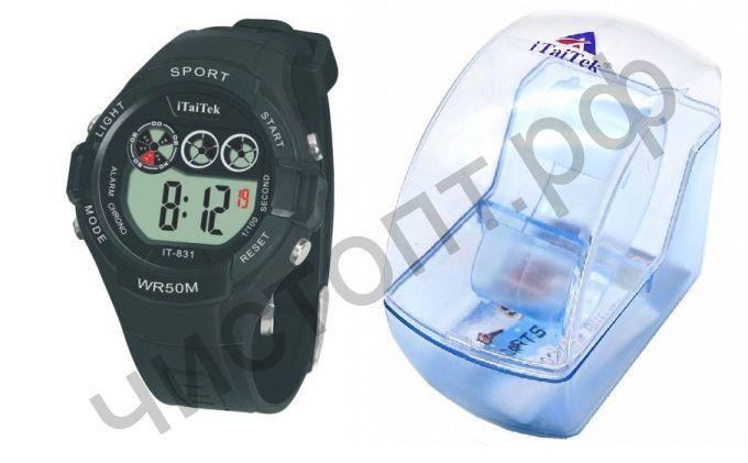 Часы наручные iTaiTek IT-831 подсветка ,таймер , будильник защита от дождя