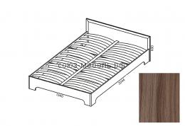 Вояж Кровать КР 1,6 шимо темный