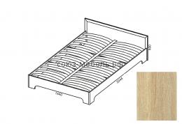 Вояж Кровать КР  1,6 сонома