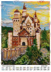 Dana DANA-2330. Замок Нойшванштайн схема для вышивки бисером купить оптом в магазине Золотая Игла