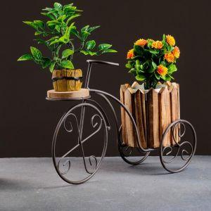 Кашпо-велосипед 33*12*21см