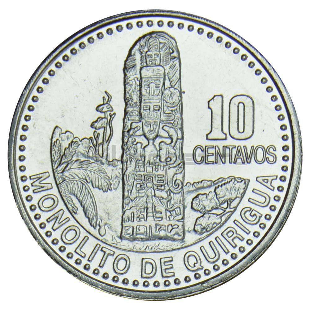 10 сентаво 2008 Гватемала