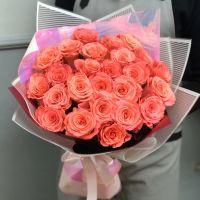 25 роз Amsterdam в красивой упаковке