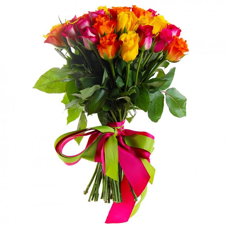 Акция! Розы 40см от 25 шт.(микс)