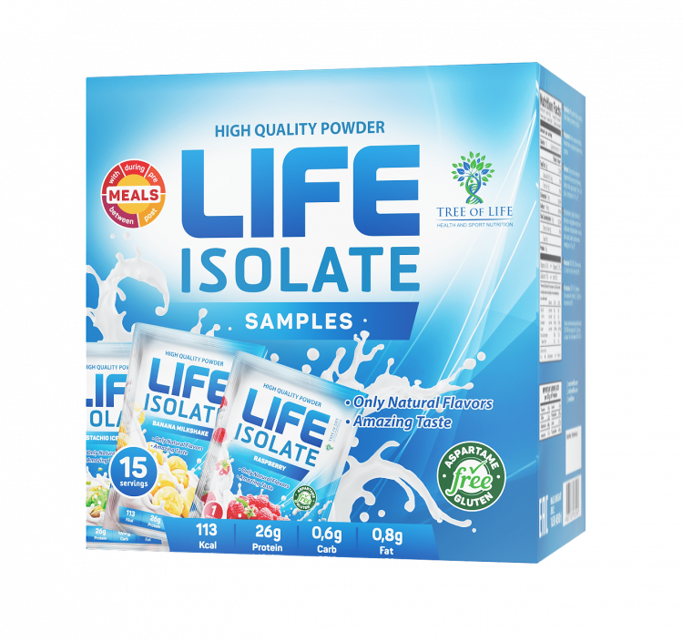 Life Isolate от Tree of Life  ассорти вкусов 15 порций