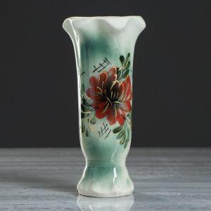 """Ваза настольная """"Тюльпан"""", цветная, 22 см, микс, керамика"""