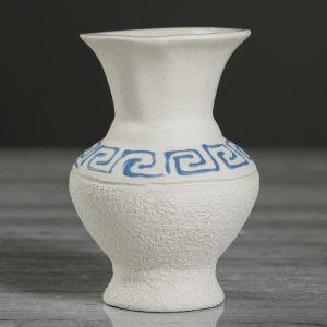 """Ваза настольная """"Чернильница"""", под шамот, 10 см, микс , керамика"""