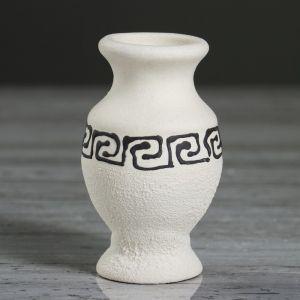 """Ваза настольная """"Греческая"""", под шамот, 8.5 см, микс , керамика"""