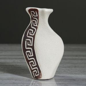 """Ваза настольная """"Волна"""", под шамот, 13 см, микс , керамика"""