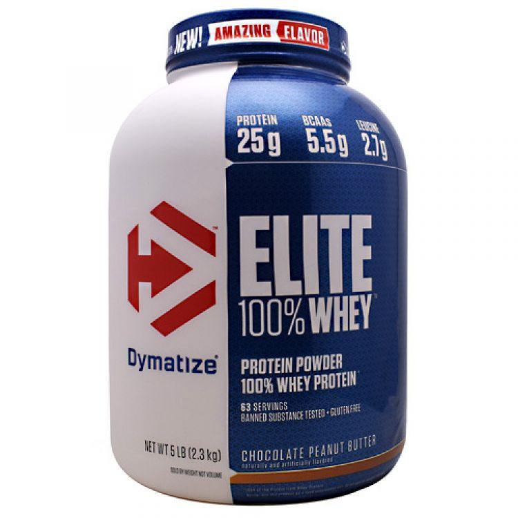 Elite Whey Protein от Dymatize 2300 гр 67 пор
