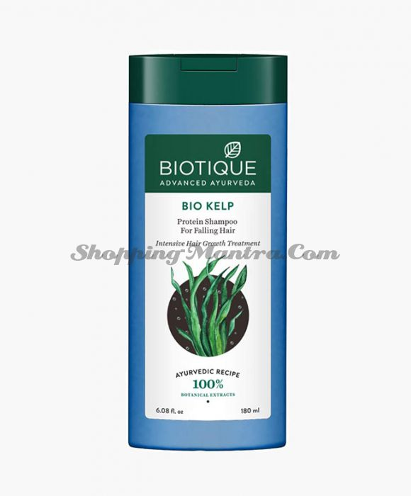 Биотик Морские водоросли протеиновый шампунь для роста волос | Biotique Bio Kelp Protein Shampoo For Falling Hair