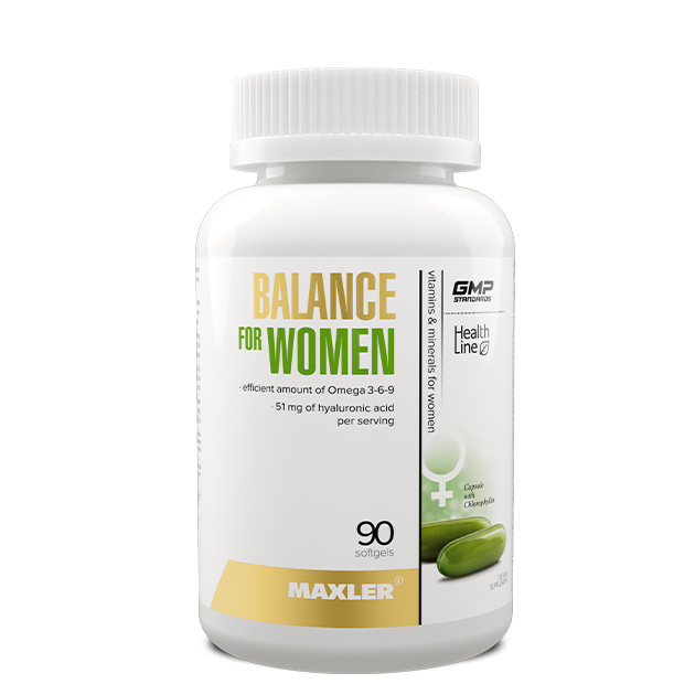 Balance for women 90 caps Maxler