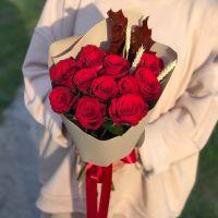 Букет из красных роз 11 шт.