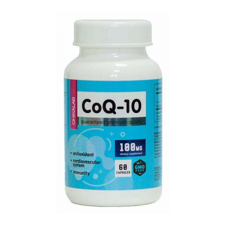 Chikalab CoQ10 100 mg 60 капс