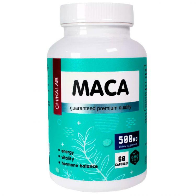 Chikalab MACA 500 мг 60 капс