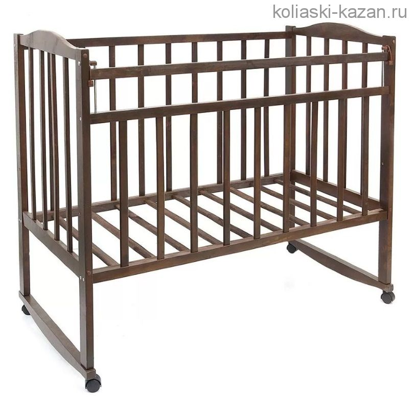 Кроватка стандарт колесо-качалка