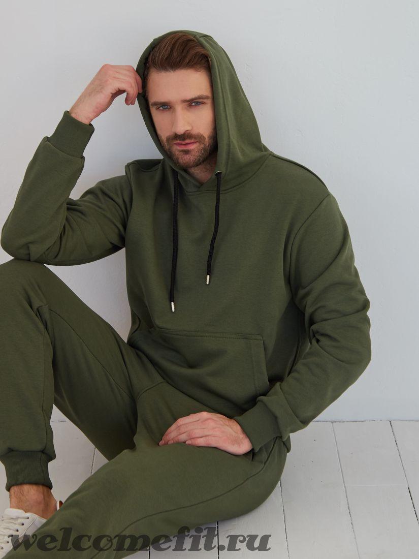 "Спортивный костюм ""кенгуру"" - хаки"