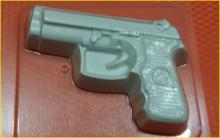 Пластиковая форма для мыла и шоколада  273 - Пистолет