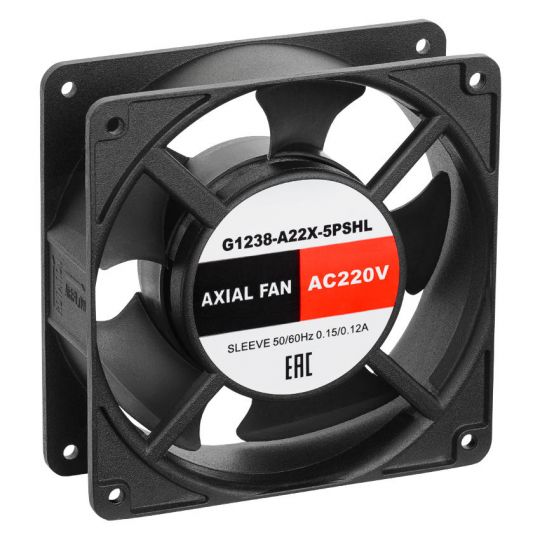 Осевой компактный вентилятор G1238-A22X-5PSHL 230В АС