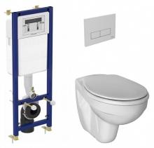 Инсталяция с подвесным унитазом  Ideal Standard Set W770001