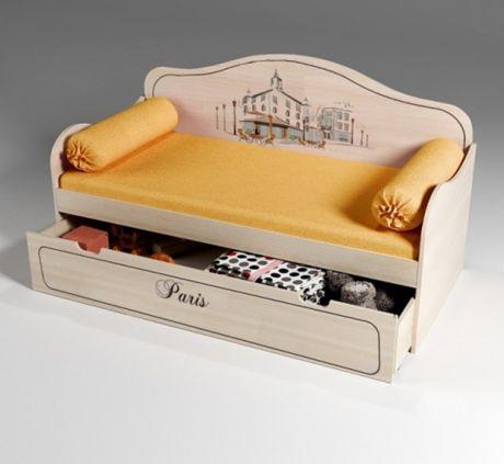 Стильная кровать для детей Париж 40010