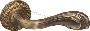 Ручка раздельная Fuaro (Фуаро) BAROCCO SM AB-7 матовая бронза ID товара: 29547