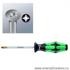 Крестовая отвертка WERA 355 SK PZ PZ 2 / 100 мм Pozidriv 009342