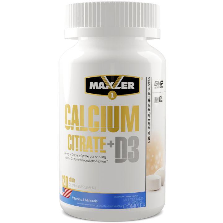 Maxler - Calcium Citrate + D3