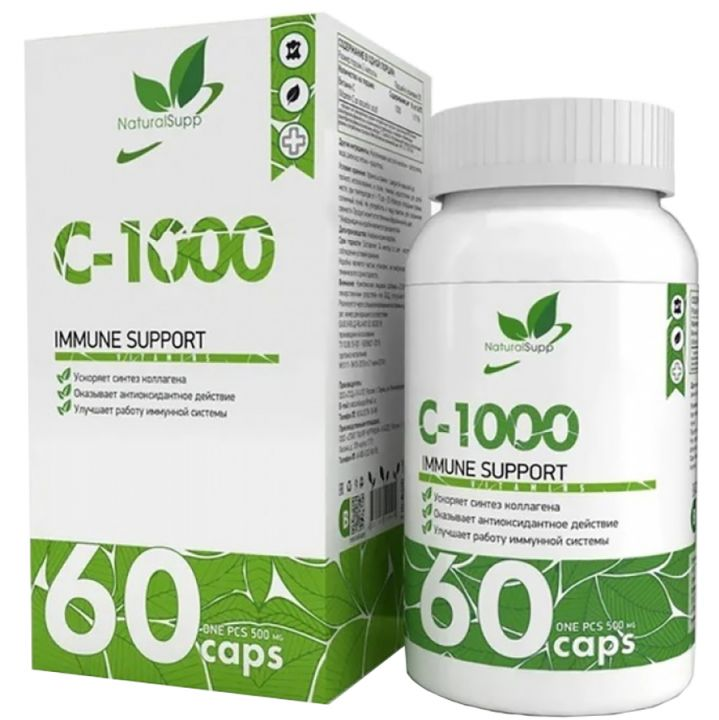 Natural Supp - Vitamin C-1000 60 caps