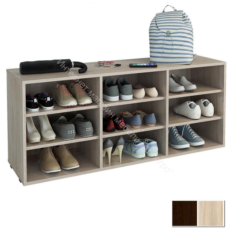 Тумба для обуви Лана 3П (ПОЛ 3П)