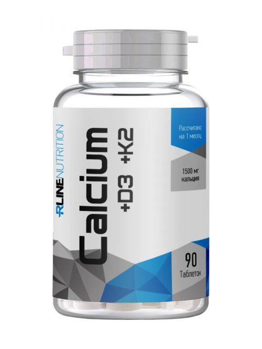 Rline - Calcium +D3 +K2
