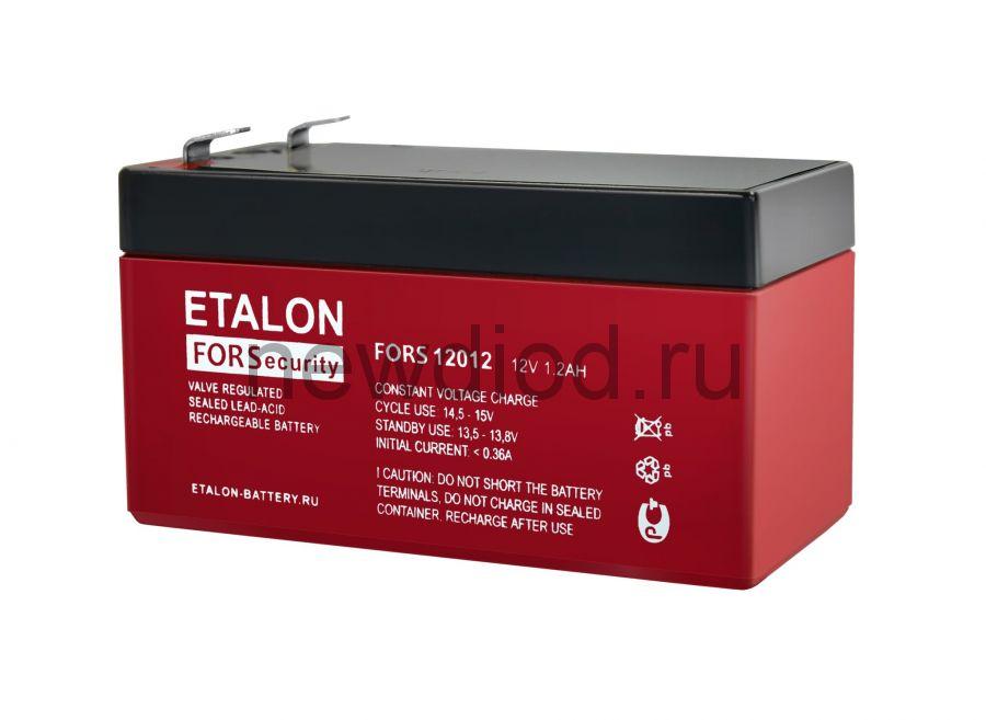 Аккумулятор ETALON FORS 12012 (12В/1.2Aч)
