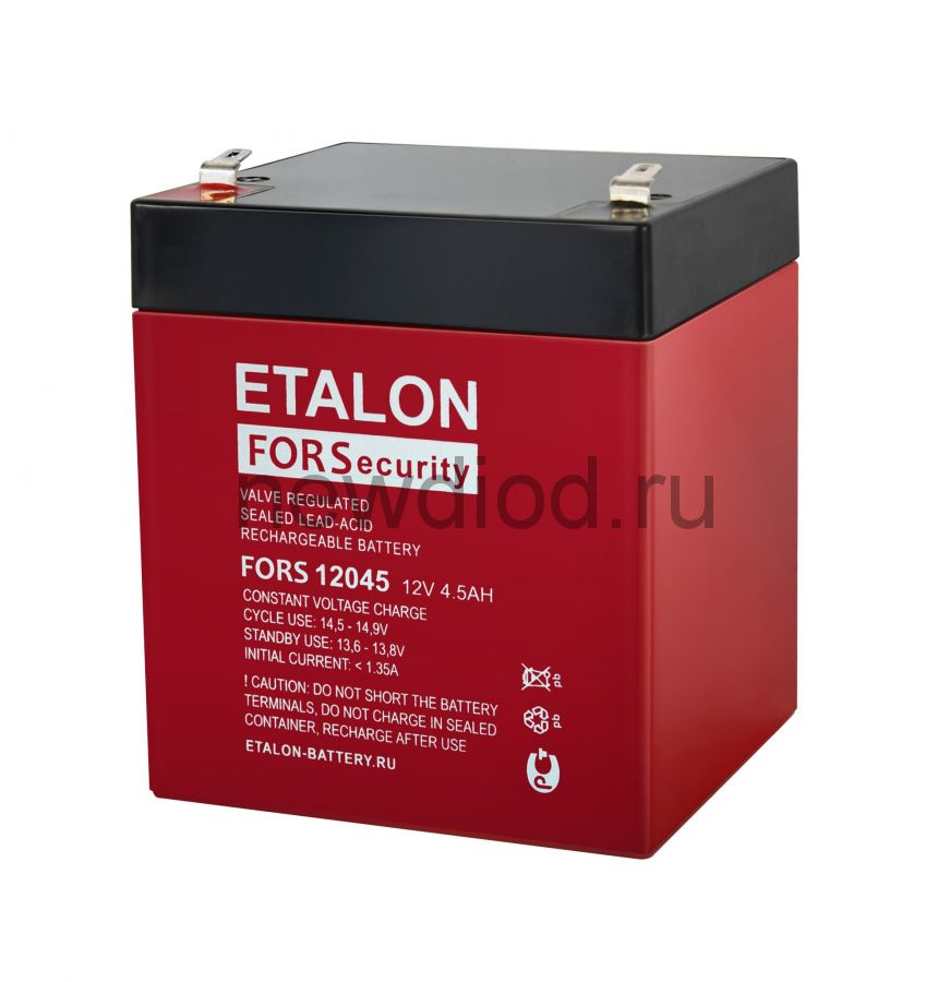 Аккумулятор ETALON FORS 12045 (12В/4.5Aч)