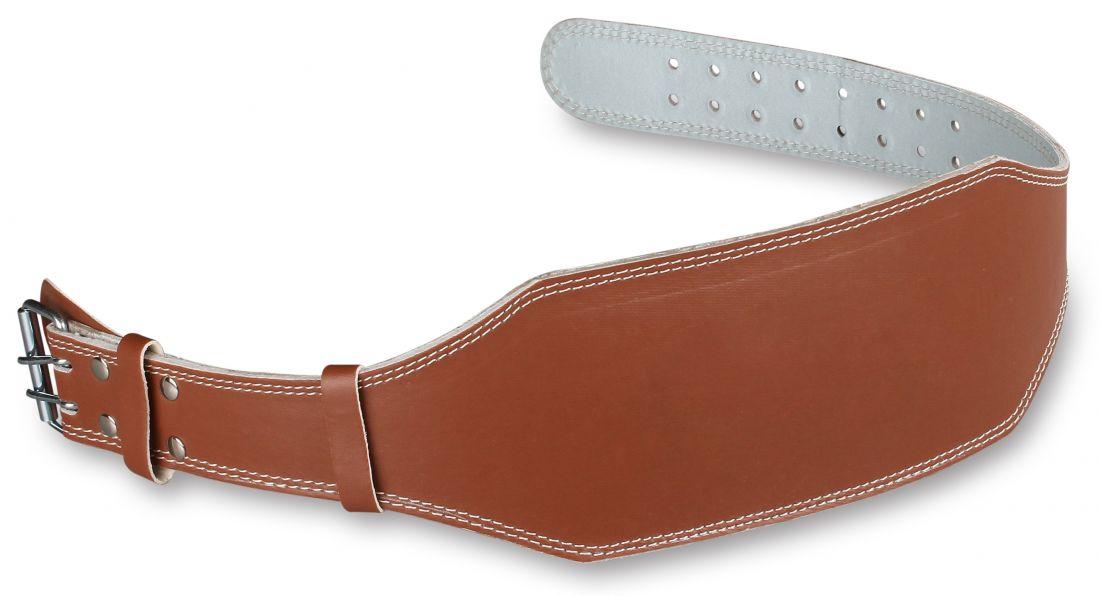 Пояс тяжелоатлетический кожаный широкий  E125 (15 см)