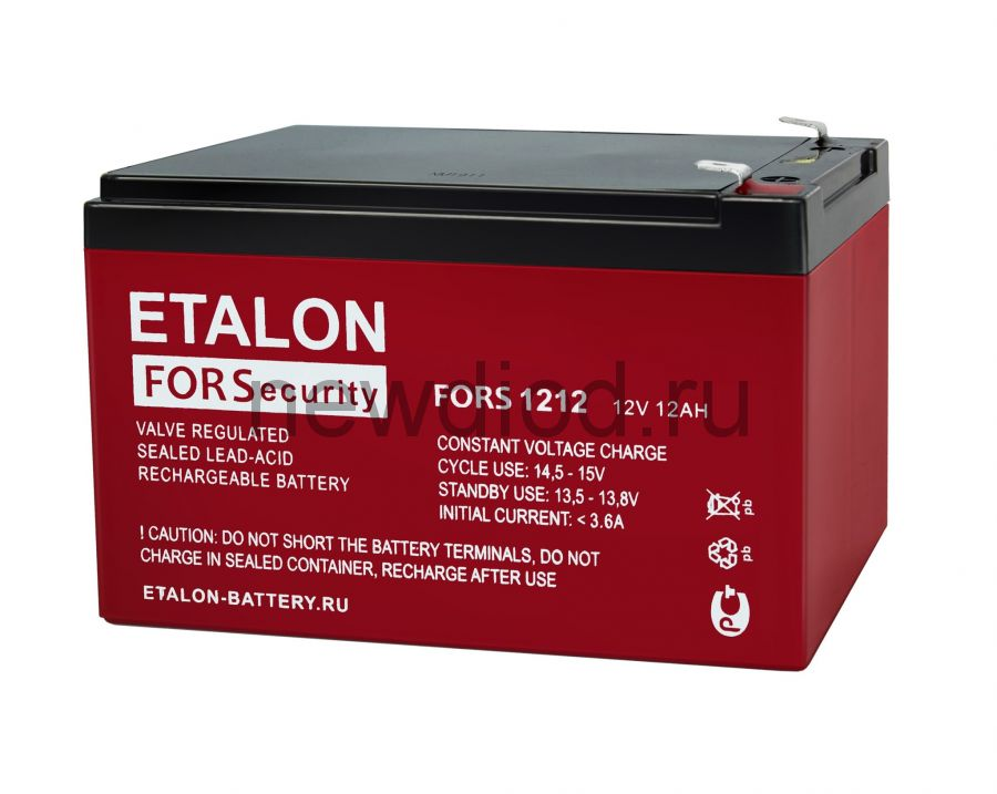 Аккумулятор ETALON FORS 1212 (12В/12Ач)