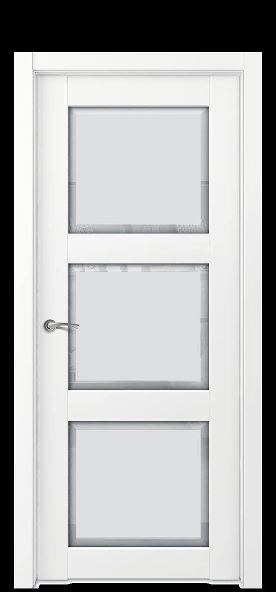 Межкомнатная дверь E1 ДО стекло 1