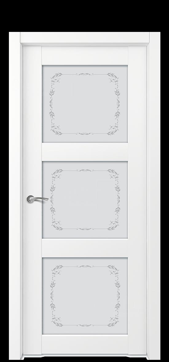 Межкомнатная дверь E1 ДО стекло 4