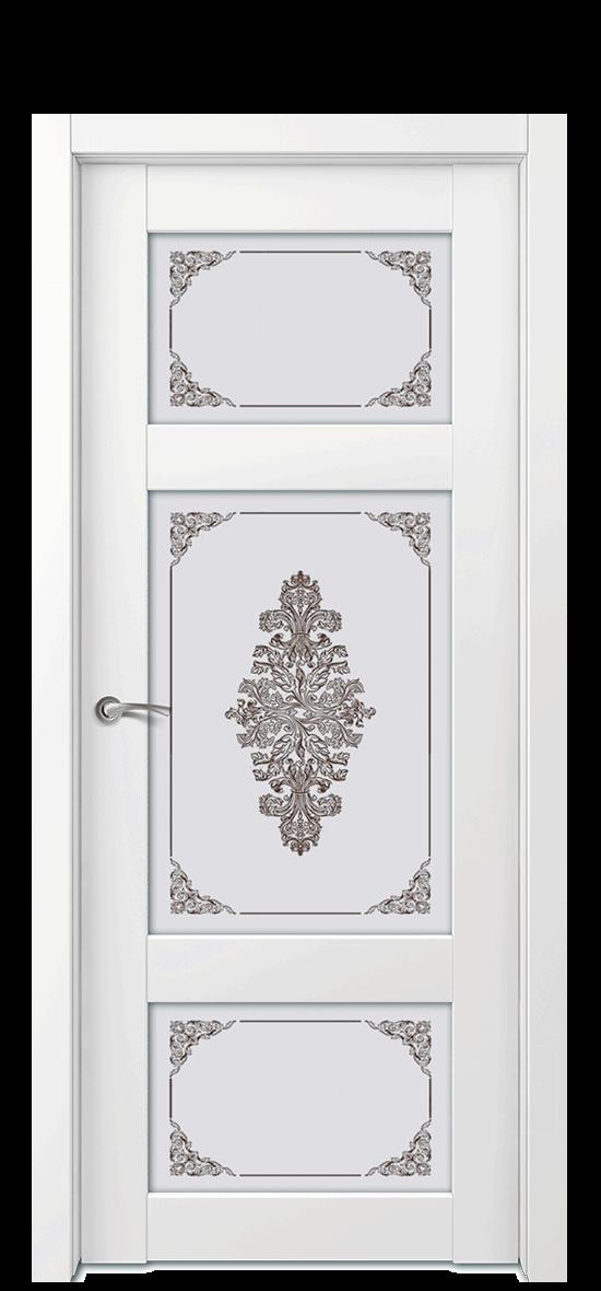 Межкомнатная дверь Е4 ДО стекло 3