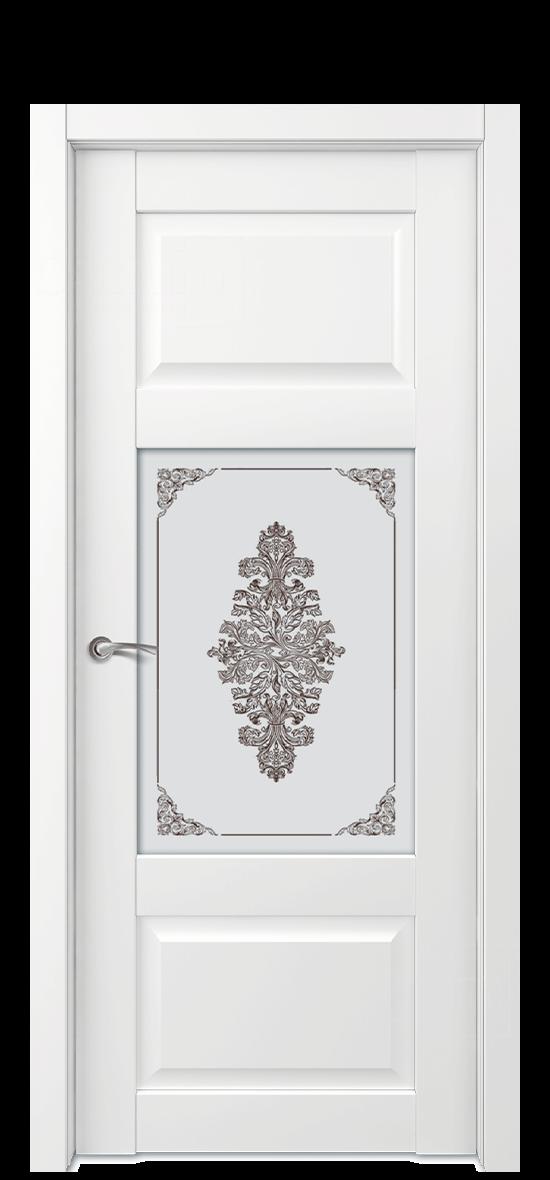 Межкомнатная дверь Е6 ДО стекло 3