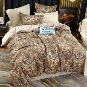 Комплект постельного белья Делюкс Сатин L251