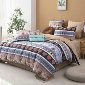 Комплект постельного белья Делюкс Сатин L324