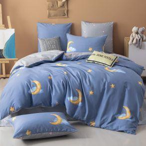 Комплект постельного белья Делюкс Сатин L342