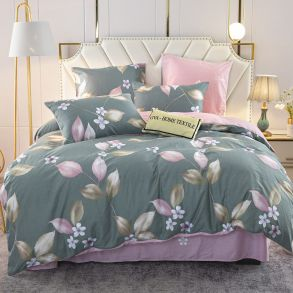 Комплект постельного белья Делюкс Сатин L335