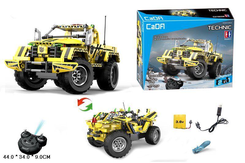 Конструктор CADA Pick-Up Technic Hi-Tech (С51003W)